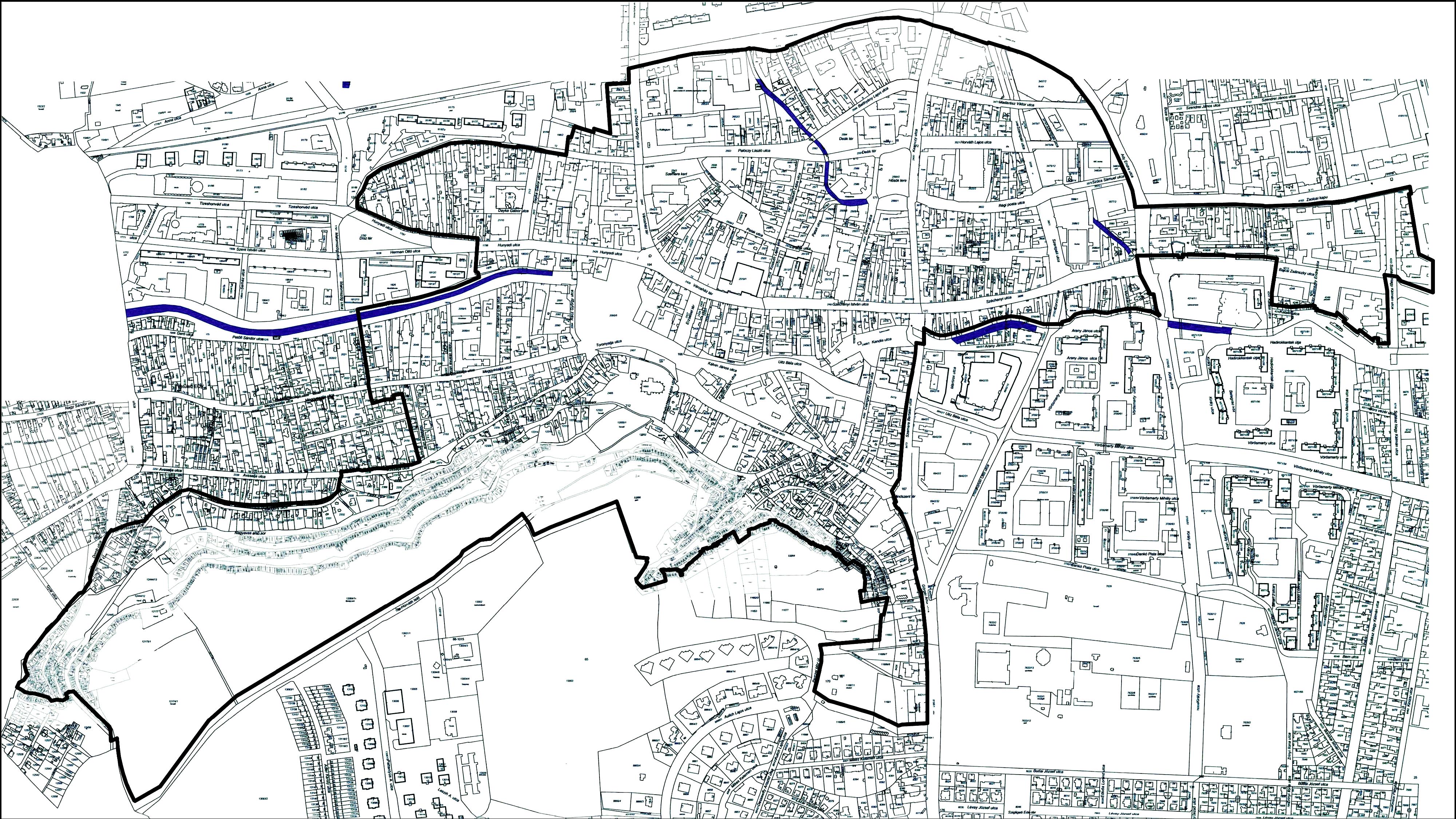 helyrajzi szám térkép Győr Helyrajzi Számos Térkép | Térkép