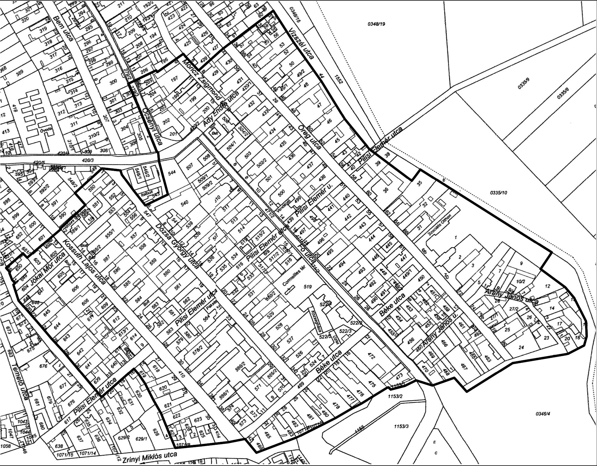 térkép helyrajzi szám alapján 53/2011. (VIII. 25.) NEFMI rendelet   1.oldal   Hatályos  térkép helyrajzi szám alapján